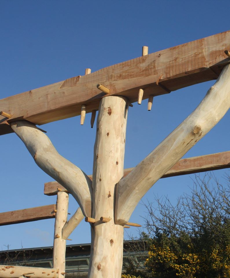 Traditional Timber Frame Joints Centre For Alternative