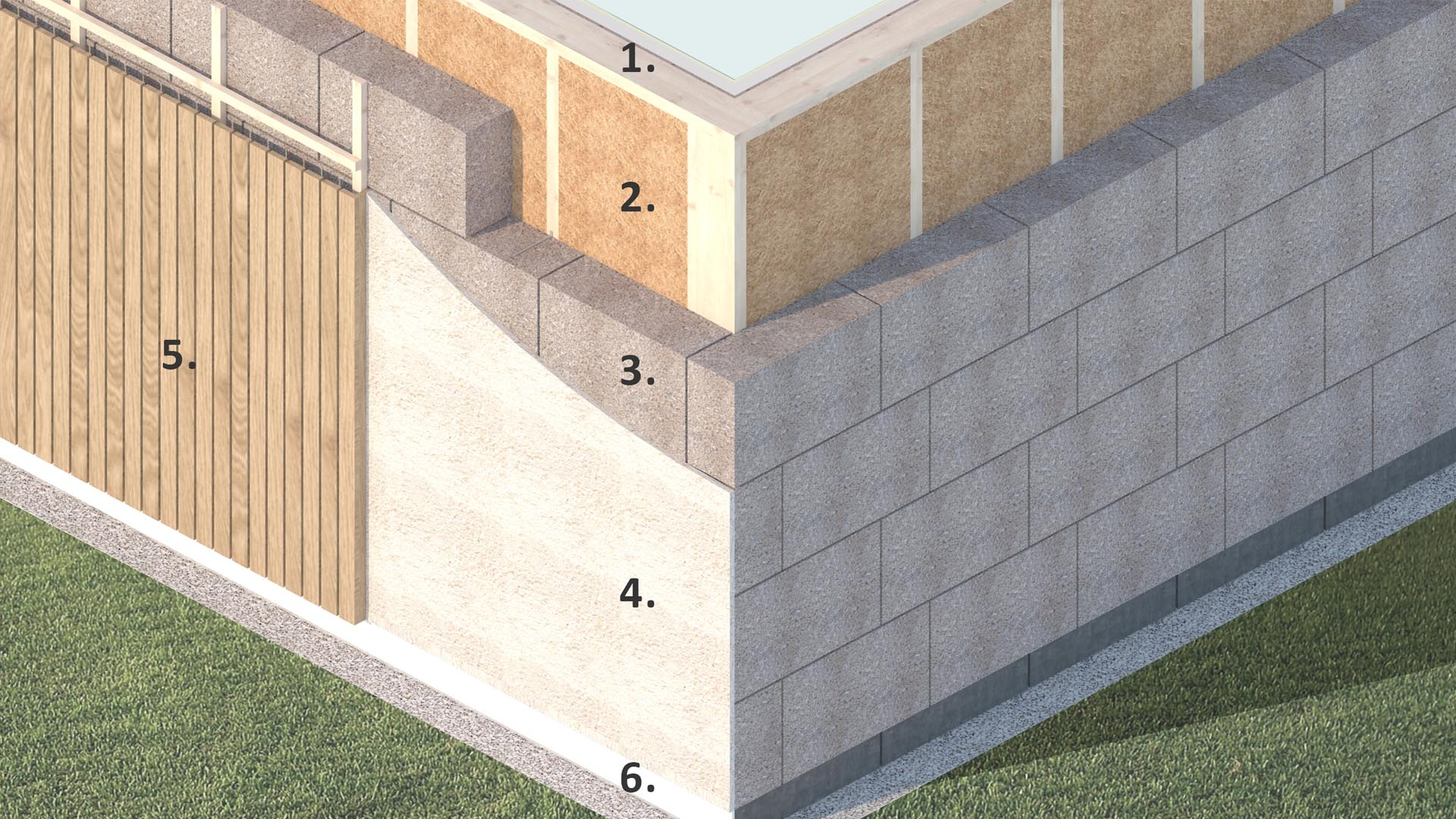 Diagram showing IndiBloc installed in a building
