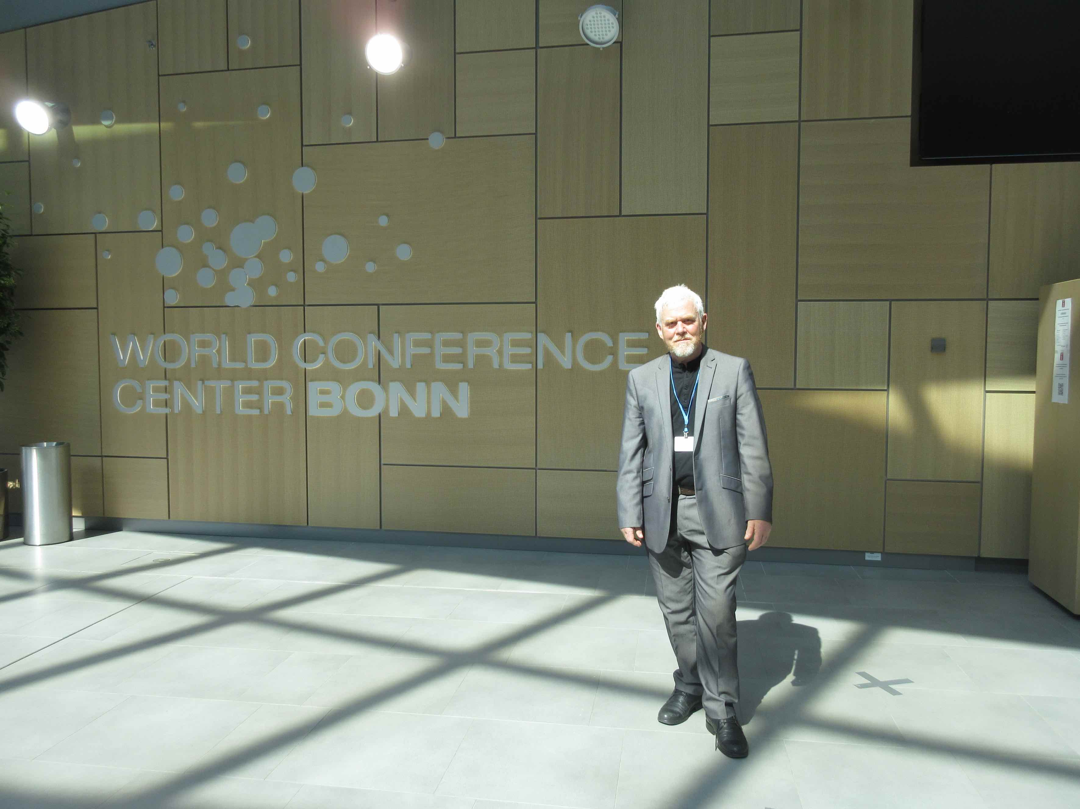 Paul Allen in Bonn for UNFCCC
