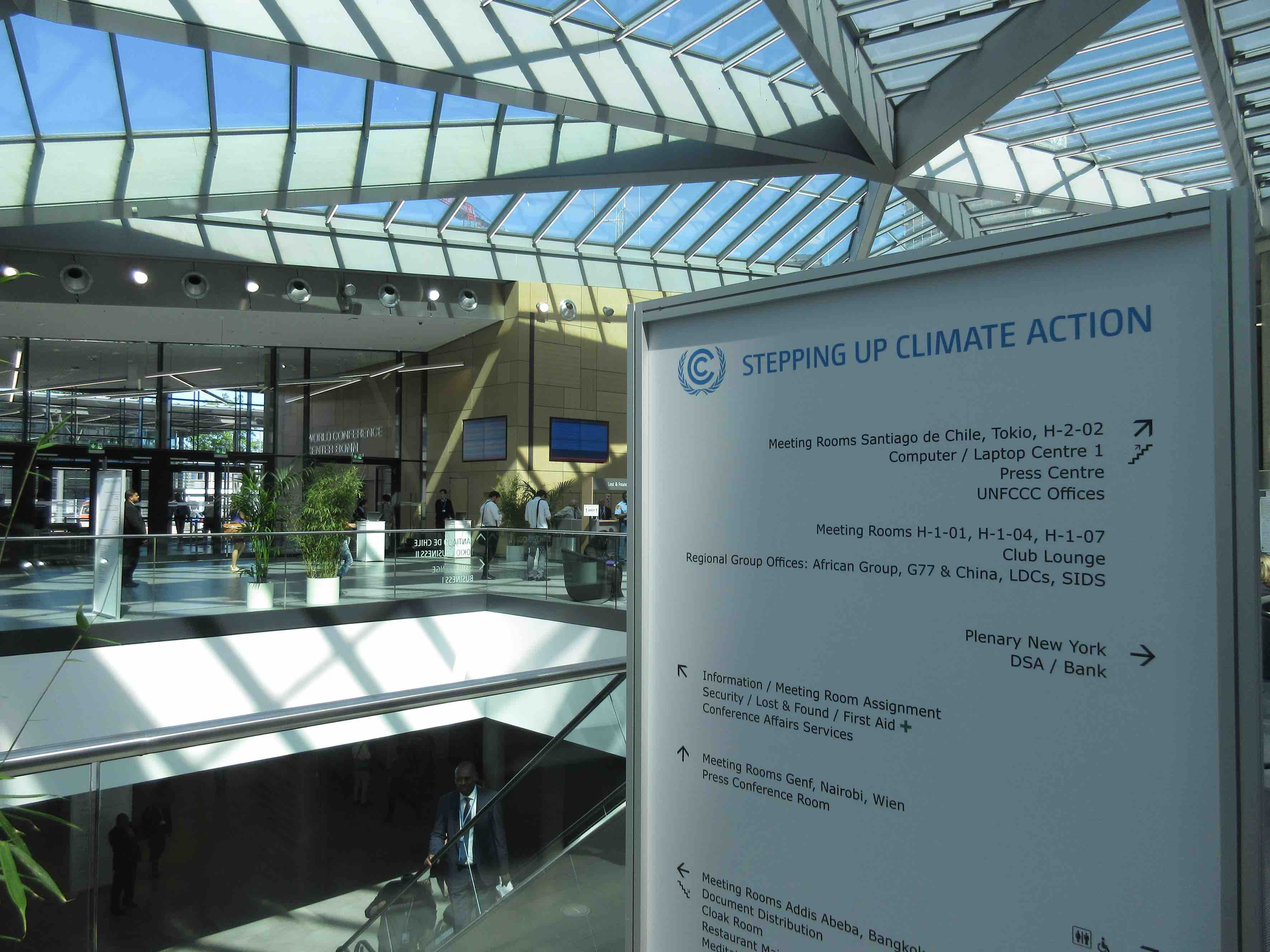 stepping up climate action BONN 2018