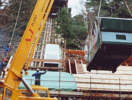 building the Cliff Railway