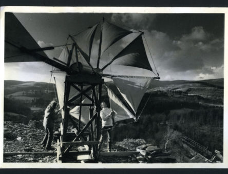 Creatan wind turbine - generating electricity in the 1970s