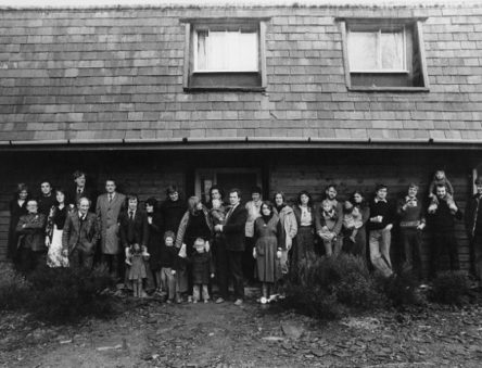 group photo of CAT staff 1978