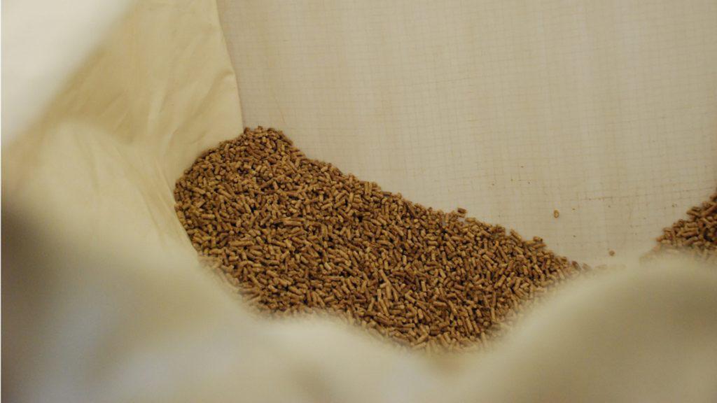 Biomass Pellets at CAT