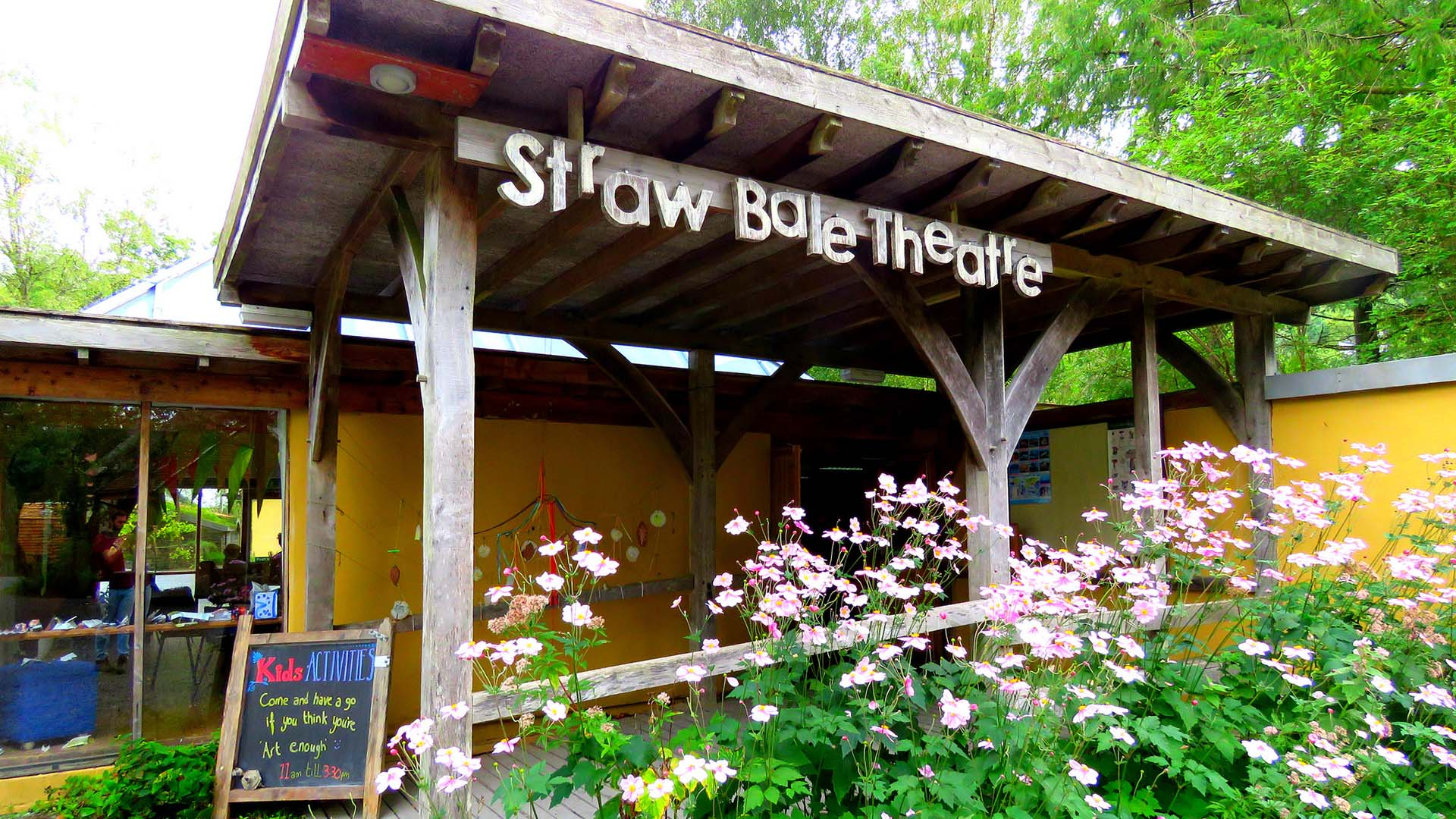 Strawbale Theatre at CAT