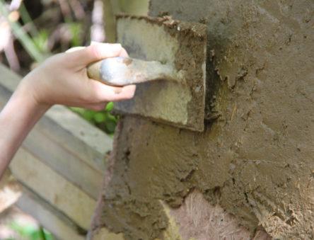earth plaster