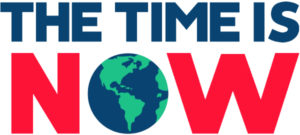 the time is now logo