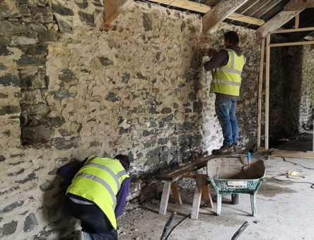 stone cottage restoration