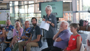 Group discussions at Welsh People's Assembly