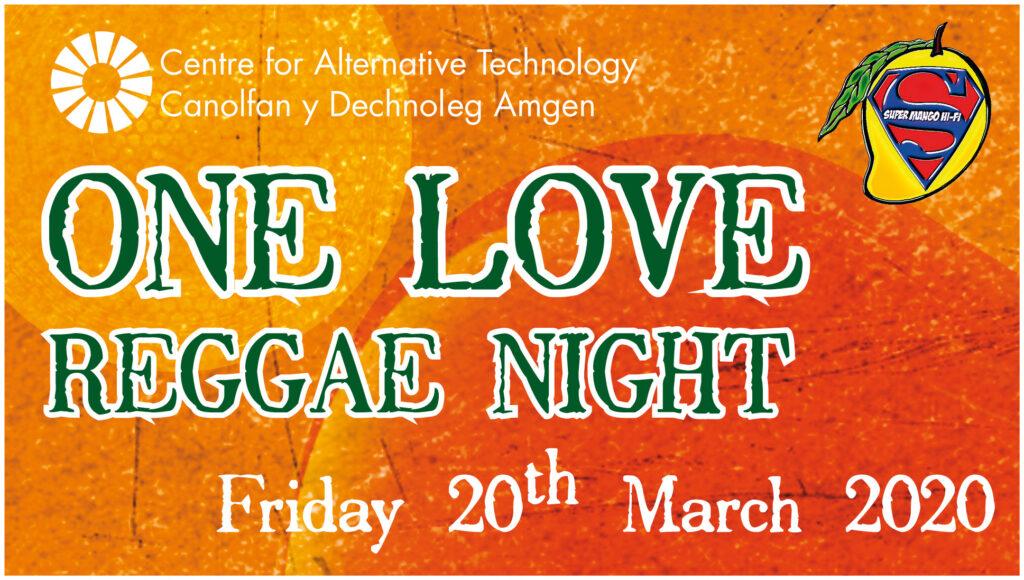 One Love Reggae Night Poster