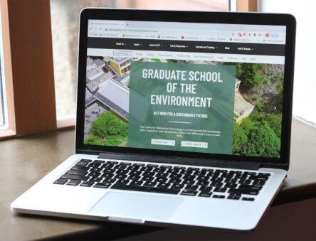 graduate school web pages