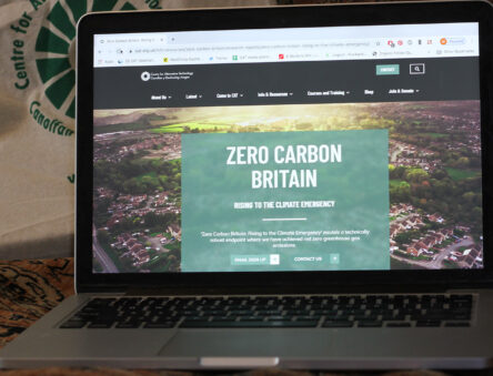 Zero Carbon Britain web page