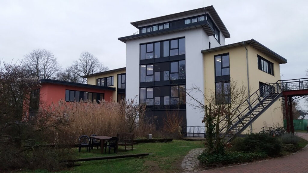 story office block at the Eco-Centre, Verden, Germany