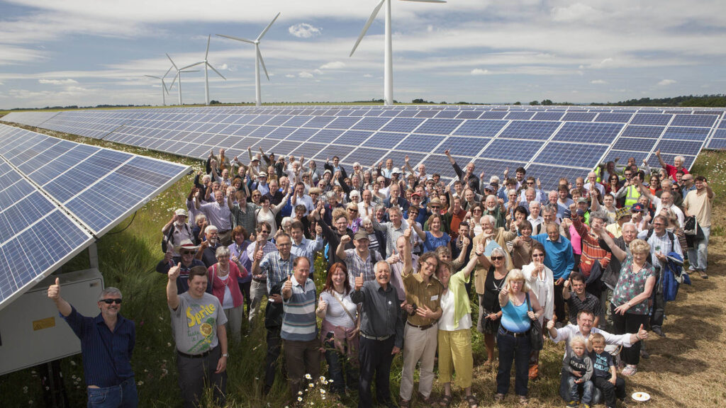 Westmill Solar Farm community energy project