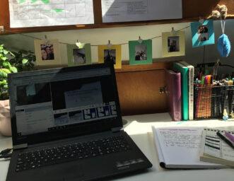 CAT students desk