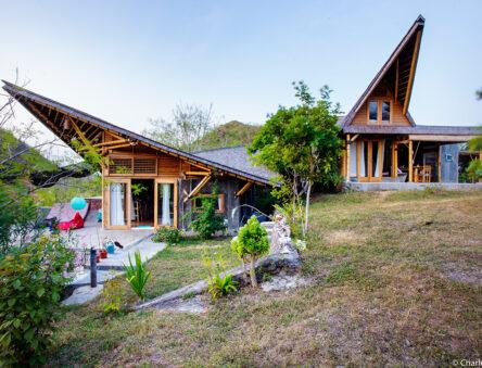 Siwak Bamboo House, Lombok - photo credit Studio Bambook
