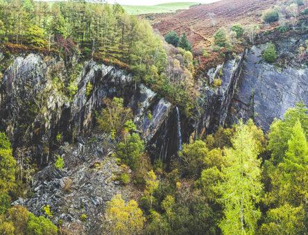 CAT quarry in Autumn