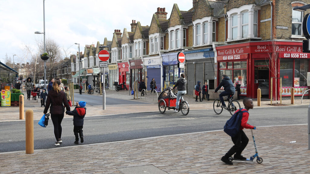Francis Road CREDIT Simon Turner on behalf of Waltham Forest-Council