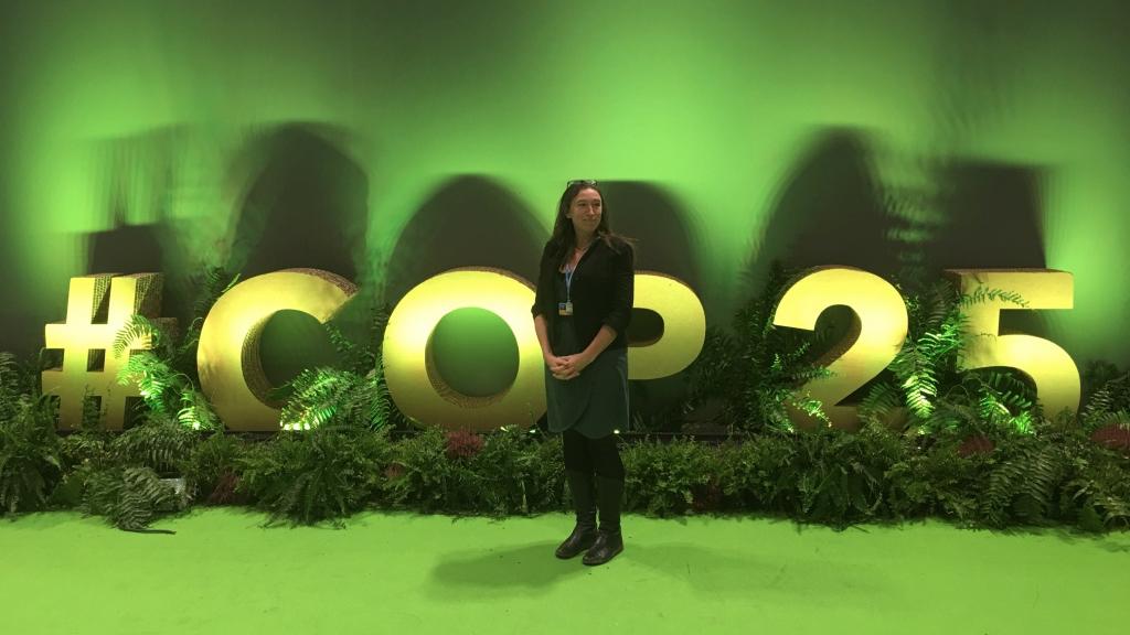 Sarah Jenkinson at COP25